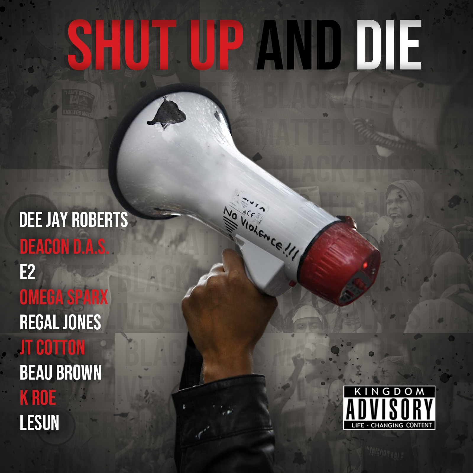 DeeJay Roberts – Shut Up and Die : OFFICIAL LYRIC VIDEO w/ Anthum & more